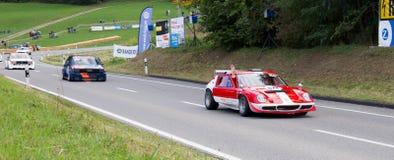 GT Racecars -游览车 免版税图库摄影