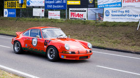 GT Racecars - Touring Cars Royalty Free Stock Images