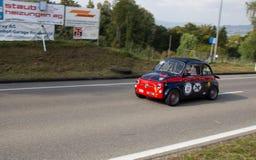Gt-racerbil - turnera bilen Royaltyfri Fotografi