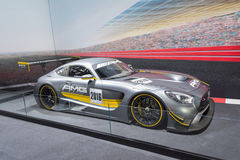 GT3 Ras Mercedes-AMG Royalty-vrije Stock Foto's