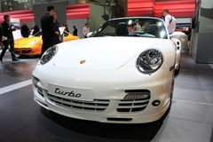 gt2 Porsche τούρμπο Στοκ φωτογραφία με δικαίωμα ελεύθερης χρήσης