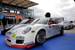 GT3 de Kop EE van Porsche Stock Foto's