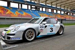 GT3 Porsche Cup. Yadel Oskan, 29 Oct.2011, Eastern Europe GT3 Porsche Cup from Istanbul Park, Turkey stock images