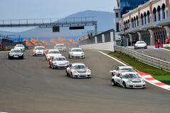 GT3 Porsche Cup Lizenzfreie Stockfotografie