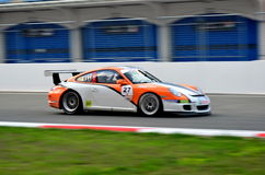 GT3 Porsche Cup - EE Royalty Free Stock Photo