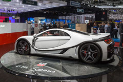 2015 GTA Spano. Presented on the 85th International Geneva Motor Show Stock Image