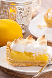 Gâteau américain de citron Photo stock