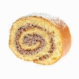 Gâteau de bûche Images libres de droits