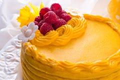 Gâteau de boisson alcoolisée d'oeufs Image libre de droits