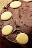 Gâteau de chocolat Photos stock