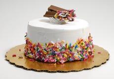 Gâteau de crême glacée Image libre de droits