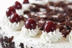 Gâteau de forêt noire Images stock