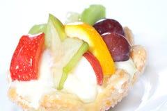 Gâteau de fruit Photographie stock