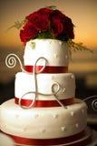 Gâteau de mariage Photographie stock