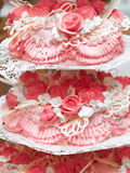 Gâteau de mariage Image libre de droits