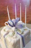Gâteau de Mitzvah de 'bat' Images stock