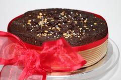 Gâteau de Noël de famille de célébration Image stock
