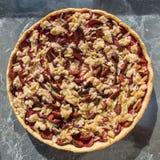 Gâteau de prune Photographie stock libre de droits