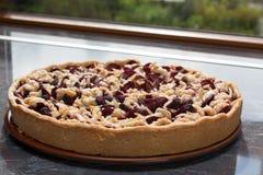 Gâteau de prune Images libres de droits