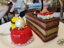Gâteau et dessert Photographie stock libre de droits