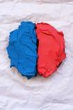 Gâteau orienté d'élection conceptuelle Photographie stock libre de droits