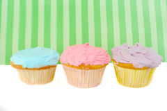 Gâteaux colorés Image stock