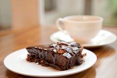 Gâteaux de 'brownie' Photographie stock libre de droits