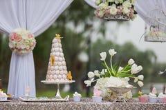 Gâteaux de mariage Photos stock