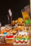 Gâteaux délicieux Images libres de droits