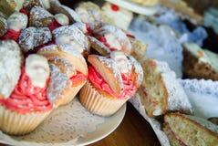 Gâteaux traditionnels Photos stock