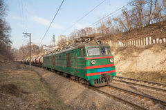 Güterzug Lizenzfreie Stockbilder
