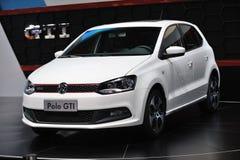 Gti blanc de polo de VW Photographie stock libre de droits