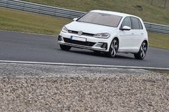 Gti de golf de Volkswagen Images libres de droits