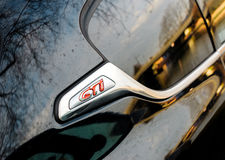 GTI signage on the new Volskwagen Golf GTI Stock Photography
