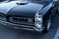 GTO Pontiac 1969 Stockfotos