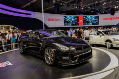 GTR von Nissan, 2014 CDMS Lizenzfreies Stockfoto