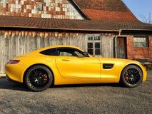 Gts de Mercedes Benz Amg Photo libre de droits