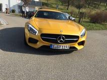 Gts de Mercedes Benz Amg Images libres de droits