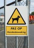 Guárdese del perro Imagen de archivo libre de regalías