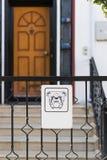 Guárdese del perro Imágenes de archivo libres de regalías