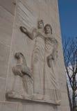 Guérison d'une nation--Mémorial de paix de Gettysburg Images libres de droits
