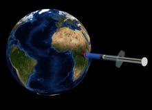 Guérison de la terre illustration de vecteur