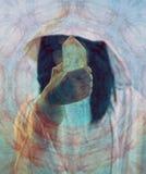 Guérisseur en cristal Image libre de droits