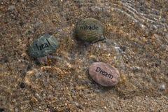 Guérissez les roches rêveuses 4 de miracle photos stock