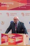 Günter Nooke,非洲的私人代表德国人的 免版税库存图片