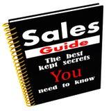 Guía de las ventas de secretos Fotografía de archivo libre de regalías