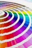 Guía del color Fotos de archivo libres de regalías