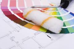 Guía del color imágenes de archivo libres de regalías