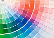 Guía del color. fotos de archivo libres de regalías
