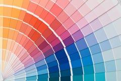 Guía del color. foto de archivo